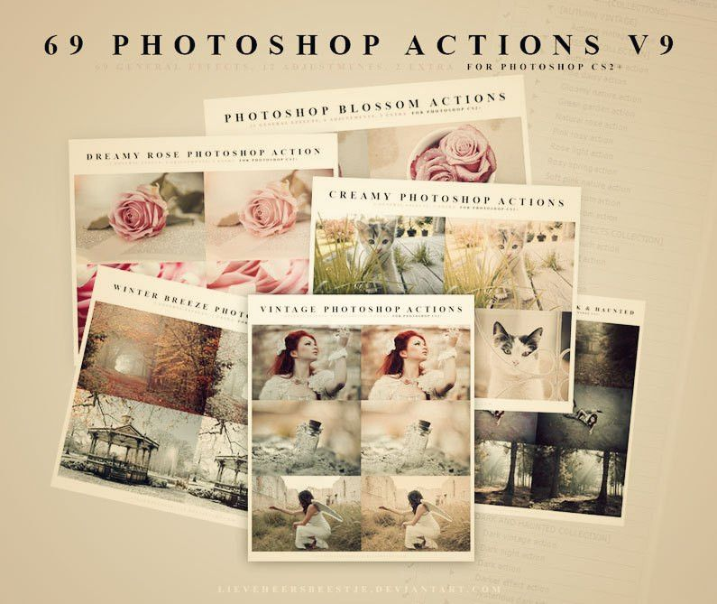 Photography freebies - Free Photoshop templates, shapes, patterns ...