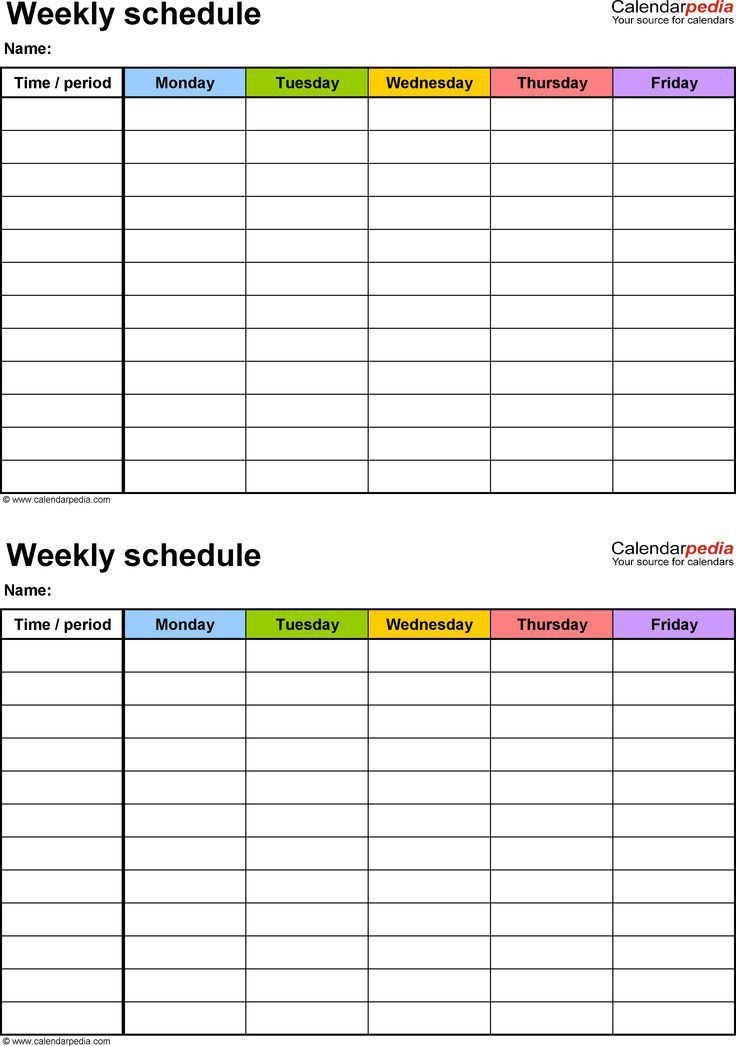Best 25+ Daily schedule template ideas on Pinterest | Daily ...