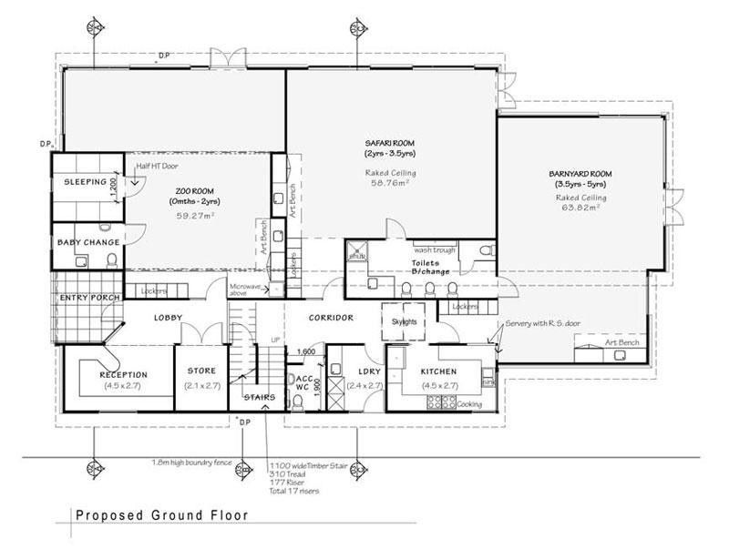 daycare floor plans | Floorplan at the Playroom Daycare and ...