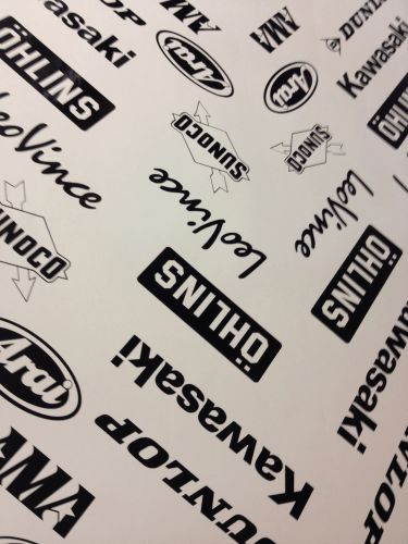 Sponsor Sheets - 212 Decals
