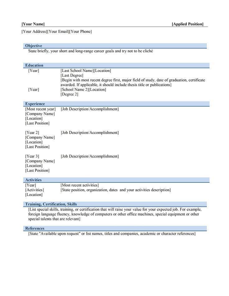 Más de 25 ideas increíbles sobre Resume software en Pinterest ...