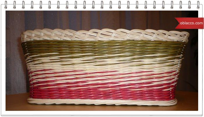 Плетение из газетных трубочек с ириной тимофеевой