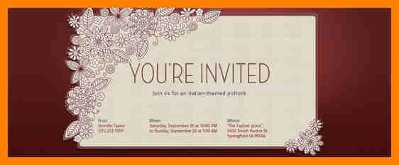 10+ online invitations templates | target cashier