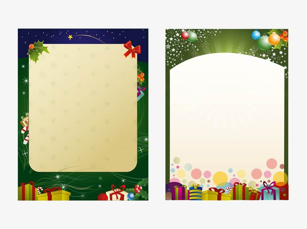 Christmas Poster Templates – Happy Holidays!