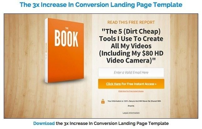 Free Landing Page Templates WordPress | Template Idea