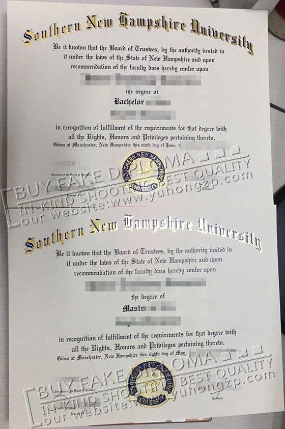SNHU fake degree image, buy fake Southern New Hampshire University ...