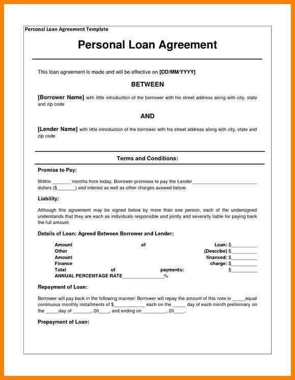 9+ loan agreement between individuals | barber resume