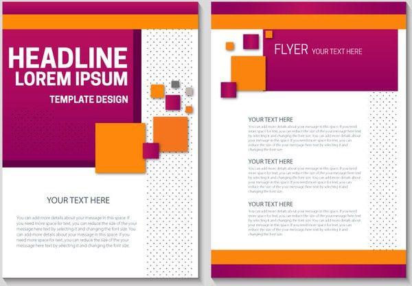 Flyer background design free vector download (43,584 Free vector ...