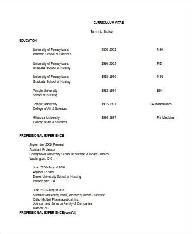 Sample Clinical Nurse Manager Resume - 9+ Examples in PDF, Word
