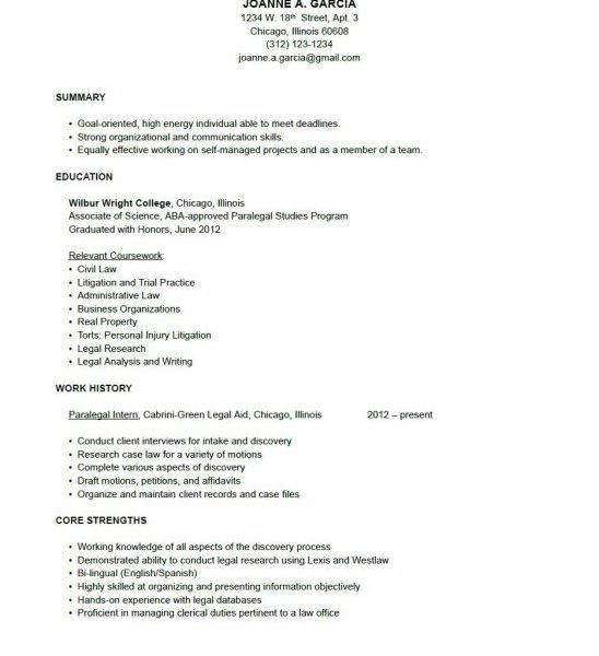 Strikingly Design Ideas Paralegal Resume Objective 9 Objective ...