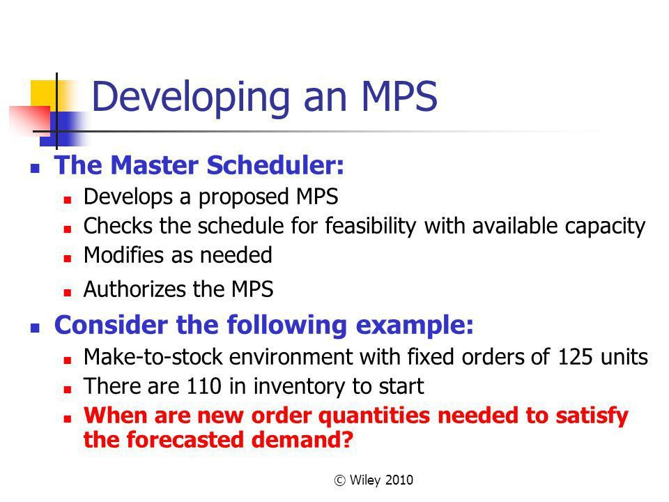 Chapter 13 – Aggregate Planning - ppt download