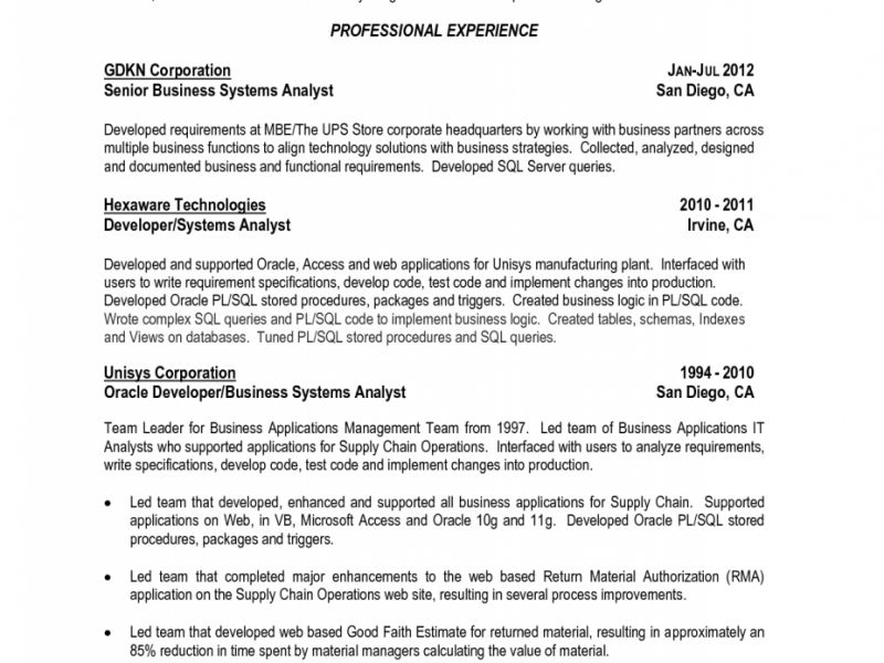 Download Sql Developer Resume | haadyaooverbayresort.com
