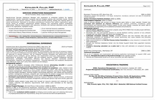 Project Ideas Professional Resume 3 Free Downloadable Resume ...
