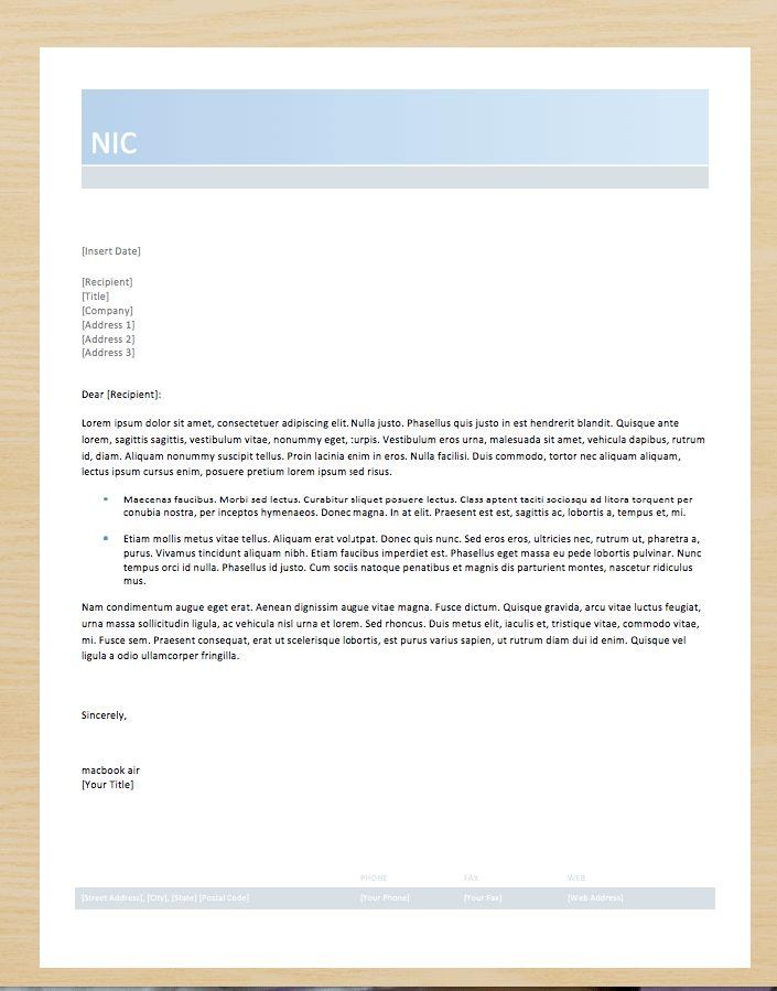 prospect cover letter template word - http://exampleresumecv.org ...