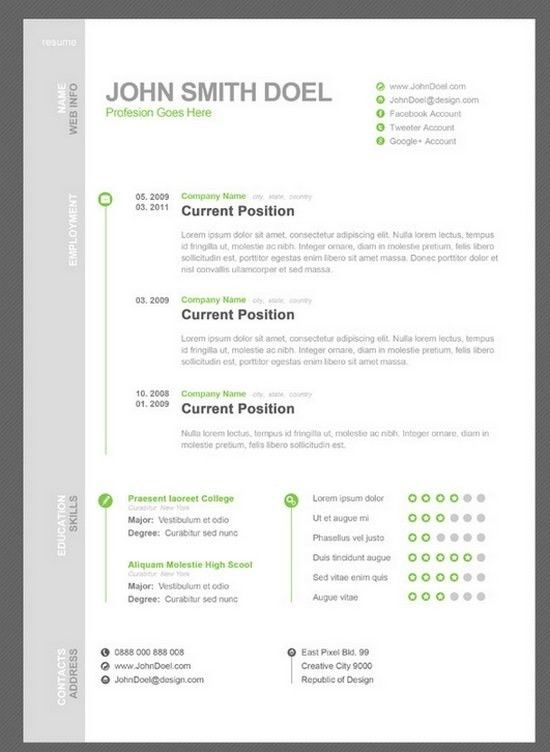 2 Curriculum Vitae Sample Download Template | jennywashere.com