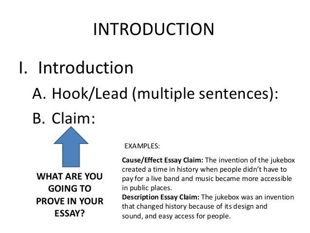 Informational essay examples - our work