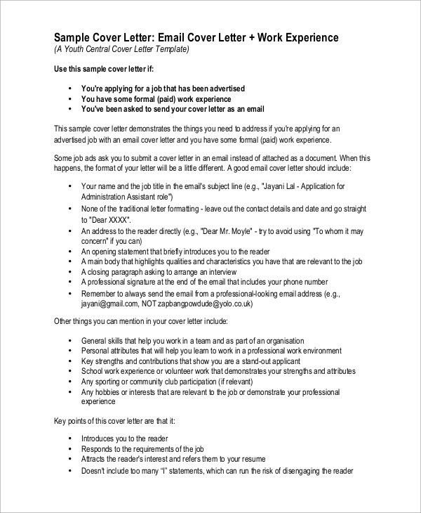 Example Cover Letter Resume. Cover Letter Resume Template - Cover ...
