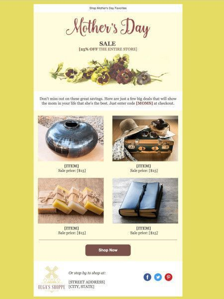 211 besten Email Templates and Design Tips from Constant Contact ...