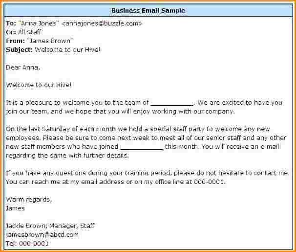 8+ formal business email example   receipts template