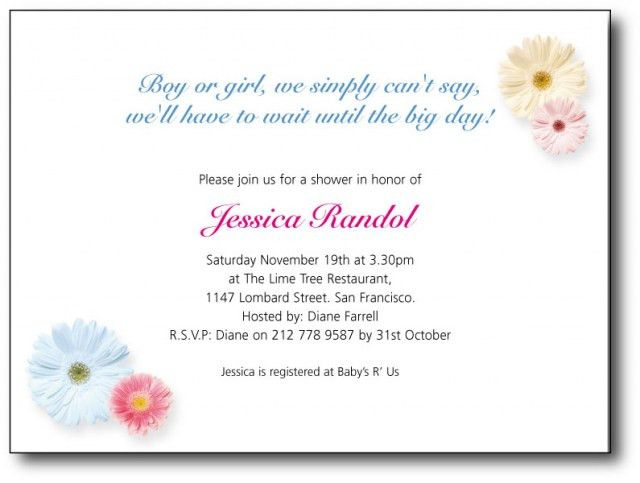 Tips to write Baby Shower Invitation Wording — Anouk Invitations
