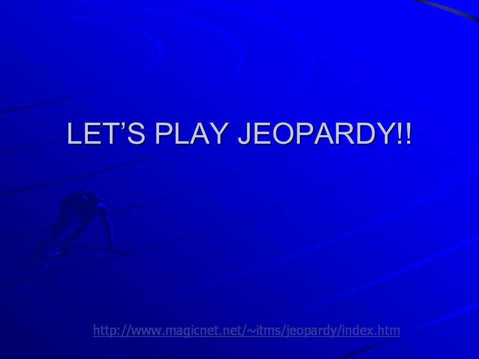 Jeopardy Template - Contegri.com