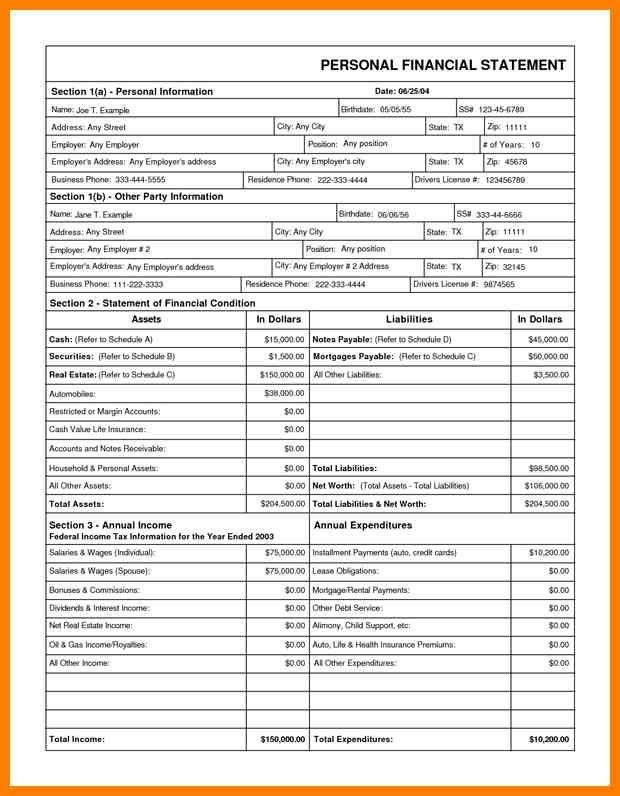 Free Financial Report Template. quarterly financial statement ...