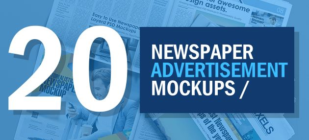 20+ Best Newspaper Advertisement Mockup PSD Templates ...