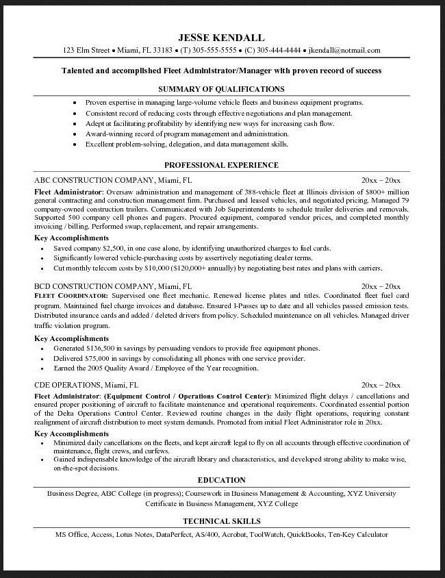 sample resume heavy equipment operator professional heavy