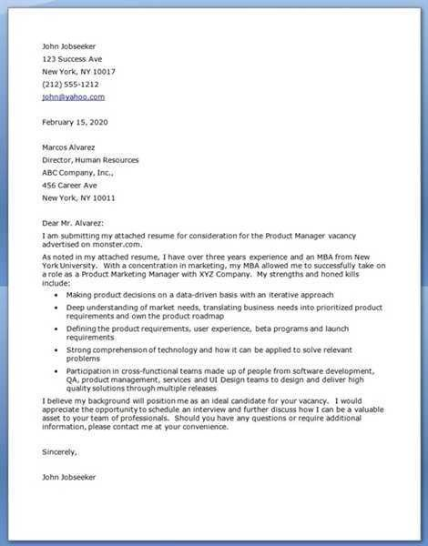 MBA cover letter University of Buffalo Here is the attachment.