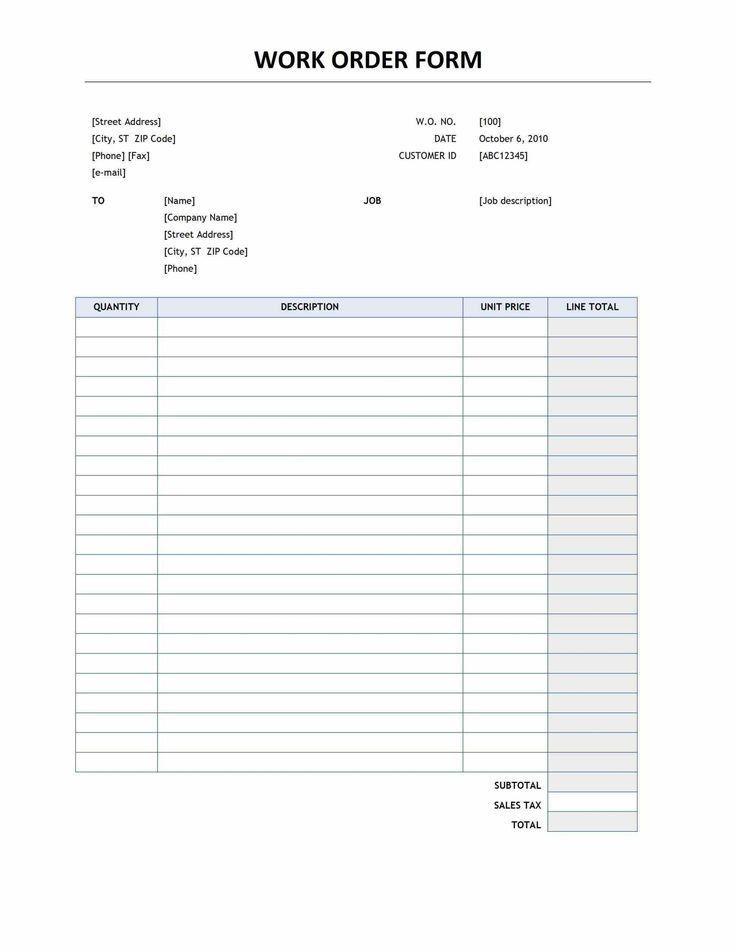 40 best Order form images on Pinterest | Order form ...