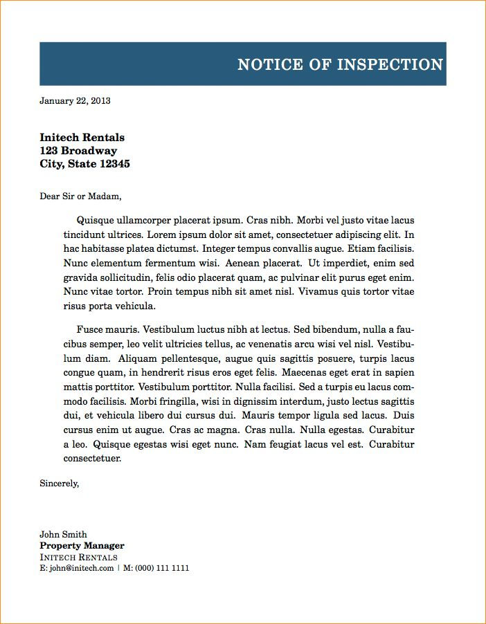 A formal letter example - Business Proposal Templated - Business ...