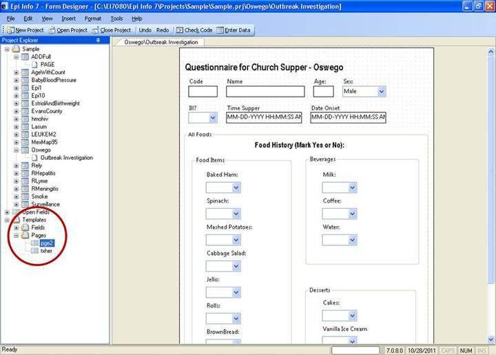 CDC - Epi Info™ - Training Resources - User Guide