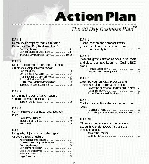 8+ example of a business plan pdf | Bussines Proposal 2017