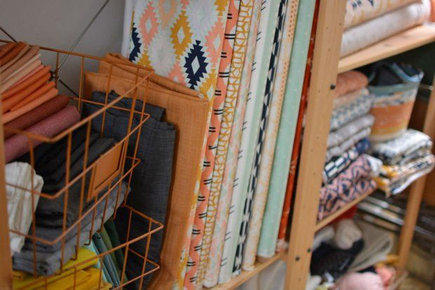 Local Fabric Designer April Rhodes Releases Two New Collections ...