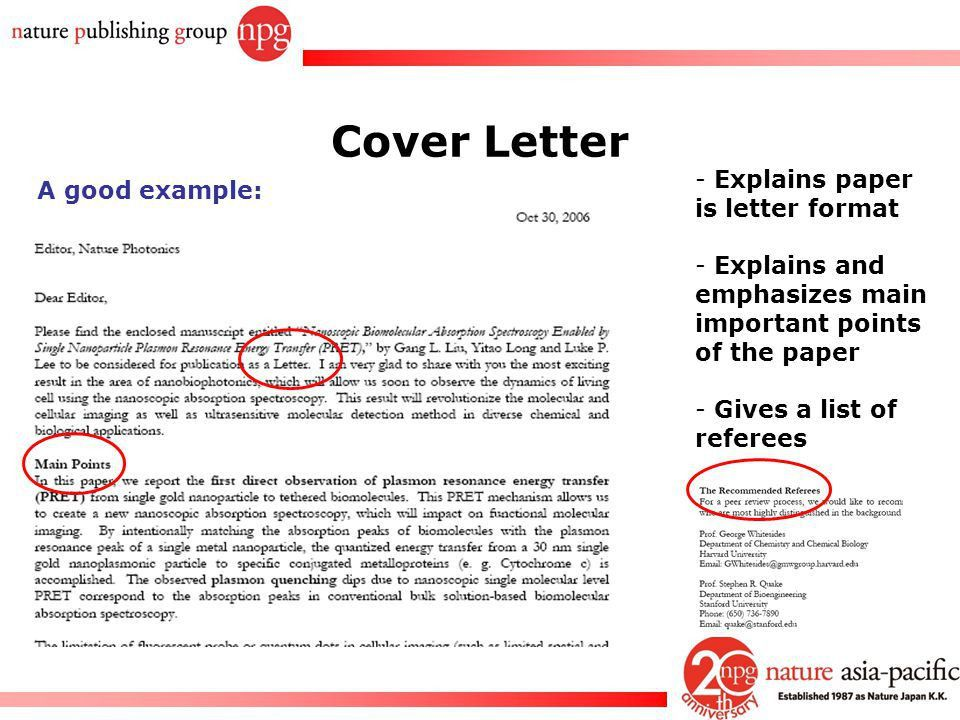 Application letter to editor