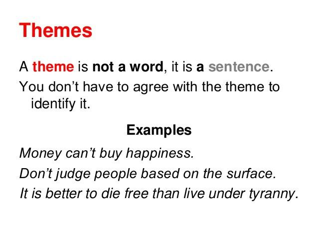 theme examples alisen berde - Essay Theme Examples