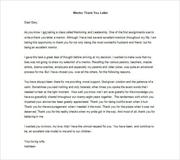 Thank You Letter - 58+ Free Word, Excel, PDF, PSD, Format Download ...