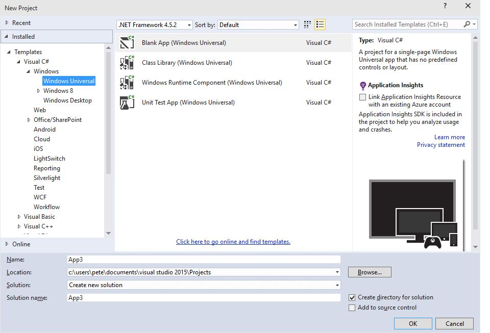 What's New in Visual Studio Tools for Universal Windows Apps ...