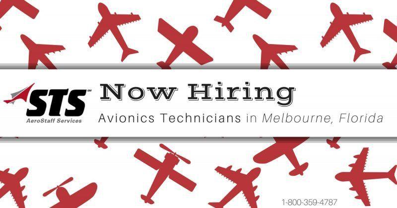 STS is Hiring Avionics Technicians in Melbourne, Florida