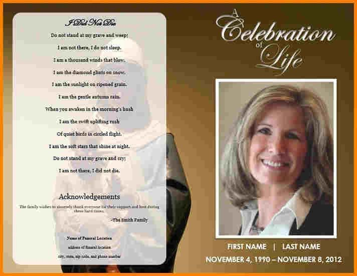 5+ funeral programs examples   Incident report
