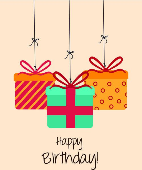 Happy birthday editable card free vector download (15,273 Free ...