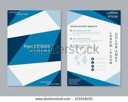 Vector Brochure Flyer Magazine Cover Booklet Stock Vector ...