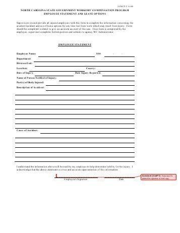 Employee Statement Form. Nomination Form_Page_4 Nominations Open ...