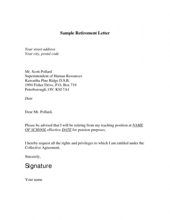 Elegant in addition to Stunning Sample Retirement Letter To ...
