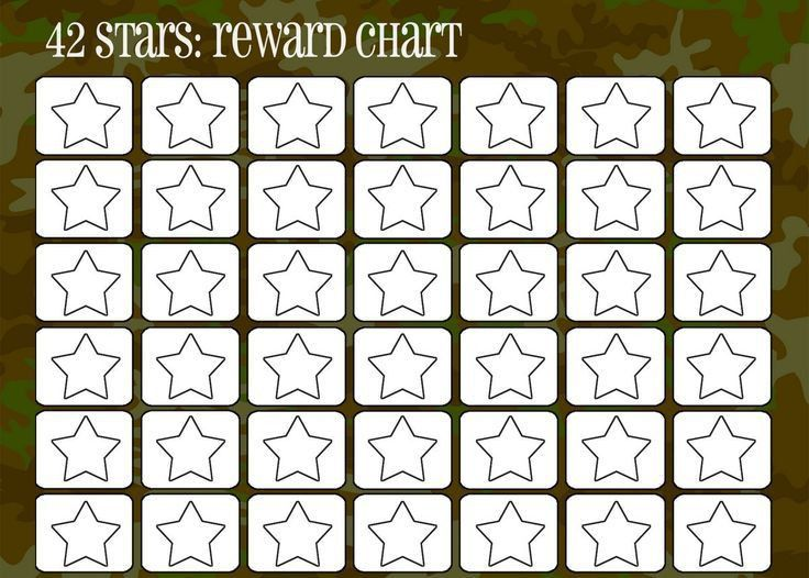 99 best Printable Reward Charts Template images on Pinterest ...