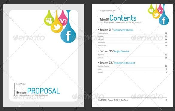 Technology Proposal Template. These Plans Will Be Included In; 7 ...