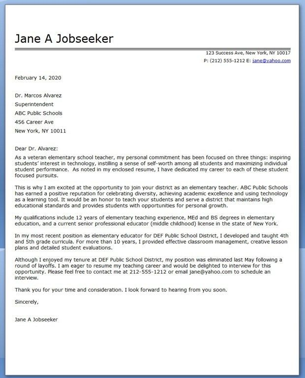 Secondary Teacher Cover Letter Example icover uk for Examples Of ...