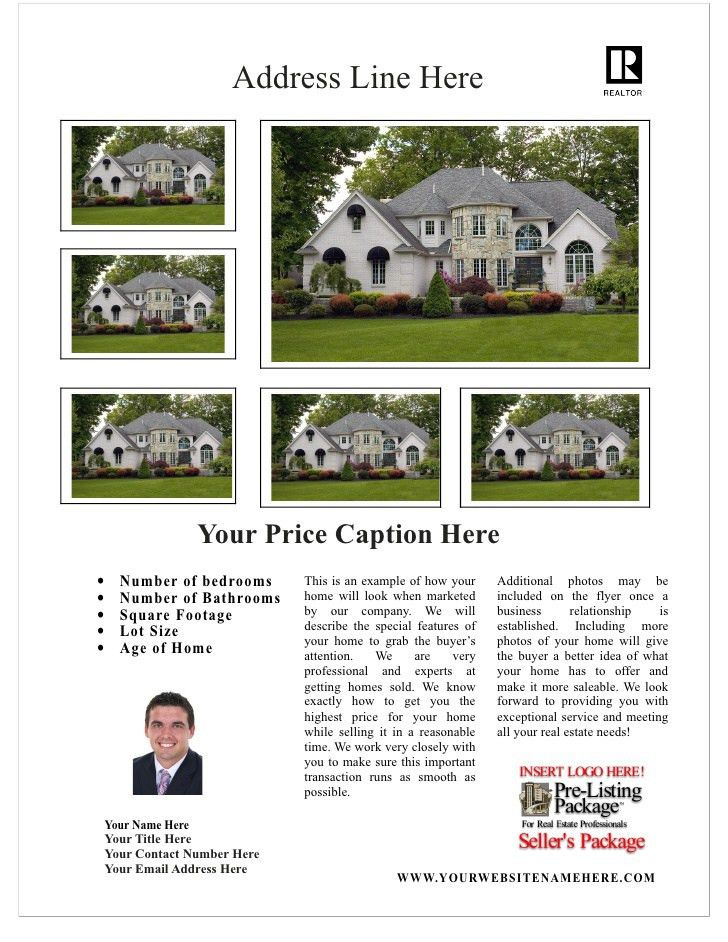 Free Real Estate Flyer Template 3