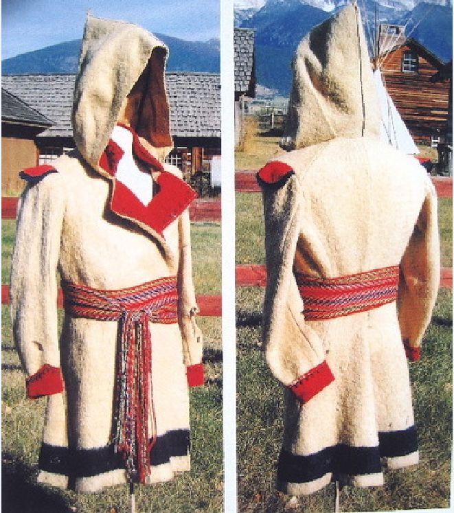 Vintage 70s Hudson Bay Capote Blanket Coat Rennactment
