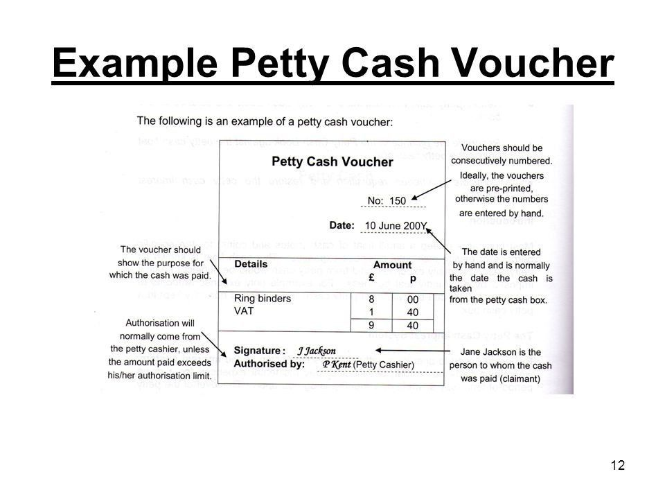 1 Petty cash. 2 3 Not this! Petty cash Efficiency. Reduce the ...